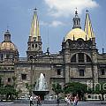 Guadalajara Cathedral Mexico by John  Mitchell