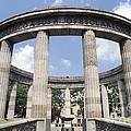 Guadalajara Rotunda Mexico by John  Mitchell
