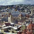 Guanajuato Skyline Mexico by John  Mitchell