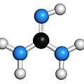Guanidine Molecule by Molekuul/science Photo Library