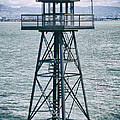 Guard Tower Alcatraz by Daniel Hagerman