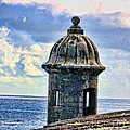 Guard Tower At El Morro by Daniel Sheldon
