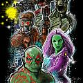 Guardians Of The Galaxy by Tommy Villarreal