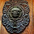 Guatemala Door Decor 1 by Xueling Zou