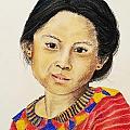 Guatemala Girl  by Cris Motta