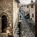 Gubbio Through The Window by Giuliano Iunco