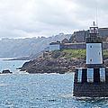 Guernsey Lighthouse by Gill Billington