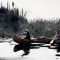 Guides Shooting Rapids by Winslow Homer