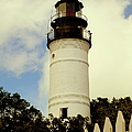 Guiding Light Of Key West by Karen Wiles