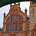 Guildhall In Londonderry Northern Ireland by Charlie Brock