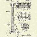 Guitar 1955 Patent Art by Prior Art Design