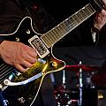 Guitar At The Blues Festival by Gord Horne