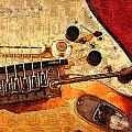 Guitar Fender by Philip  Dammen