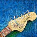Guitar Head by Philip  Dammen