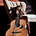 Guitar In Sunlight by Victoria Fischer