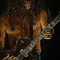 Guitar In The Zone by Absinthe Art By Michelle LeAnn Scott