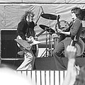 Guitar Jam At Day On The Green In Oakland 1976 by Ben Upham