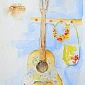 Guitar Of A Flower Girl by Patricia Awapara