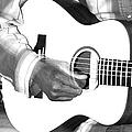 Guitar Player by Aidan Moran