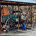 Guitar Playin Cowboy by Carrie OBrien Sibley