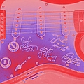 Guitar Signed  by Douglas Settle