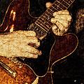 Guitar Tinted Copper by David Lange