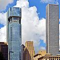 Gulf Building Houston Texas by Christine Till
