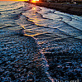 Gulf Sunset by Perry Webster