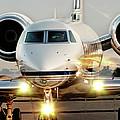 Gulfstream G550 by James David Phenicie