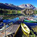 Gull Lake Marina Fall Morning by Scott McGuire