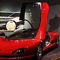 Gull Wing Corvette by Linda Phelps