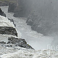 Gullfoss Waterfall Iceland by Rudi Prott
