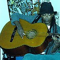 Gully Guitar And Black Hat  by Cleaster Cotton