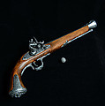 Gun - Musket With Musket Ball by Paul Ward