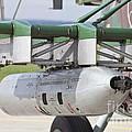Gun Pod On A Slovakian Mi-17 Helicopter by Timm Ziegenthaler