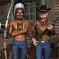 Gunfight At The Okey Dokey Corral by Robert Crepeau