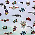 Guns And Roses  by Mark Ashkenazi