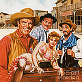 Gunsmoke by Dick Bobnick