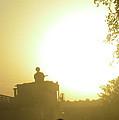 Guntruck At Sunset by Bob Weibler