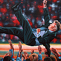 Guus Hiddink by Paul Meijering