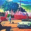 Guys Dolls And Pink Adobe by Art West