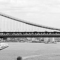 Manhattan Bridge Span by Mickael Sherrill