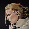 Gwyneth Paltrow Painting by Paul Meijering