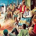 Gypsies Partying by English School