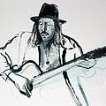Gypsy Guitarist by Asha Carolyn Young