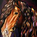 Gypsy Vanner by Emma Caldwell
