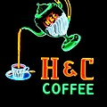 H And C Sign by Eric Liller