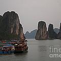 Ha Long Bay   Vietnam   #0521 by J L Woody Wooden