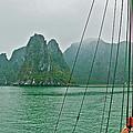 Ha Long Bay's Limestone Islands-vietnam by Ruth Hager
