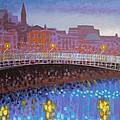 Ha Penny Bridge Dublin  Cropped by John  Nolan